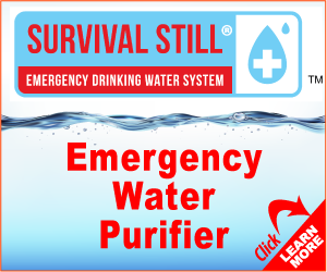 survival still, water