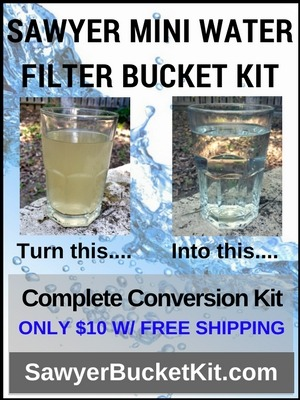 Sawyer Bucket Filter
