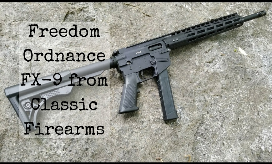 Freedom Ordnance Fx 9 From Classic Firearms 1776patriotusa